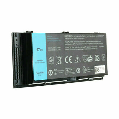 $29.59 • Buy New Replace 97Wh FV993 FJJ4W Battery For Dell Precision M4600 M4700 M4800 M6600