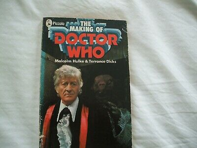 THE MAKING OF DOCTOR WHO - Hulke/Dicks - 1972 Pan/Piccolo 1st Edition Paperback • 15£