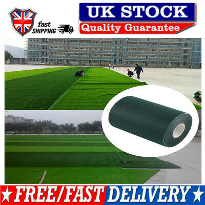£6.85 • Buy 10m Artificial Grass Tapes Lawn Grass Fake Joining Jointing Fixing Turf Uk