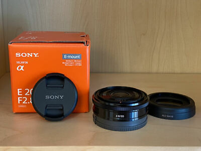AU335 • Buy Sony 20mm F2.8 E-mount Lens. New In Box. AU Stock.