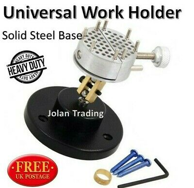 £14.61 • Buy Universal Work Holder Crafts Solid Base Vice Clamp Jewellery Models A 4782