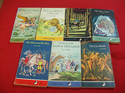 £30 • Buy C.S. LEWIS: THE CHRONICLES OF NARNIA, 1960s PUFFIN SET