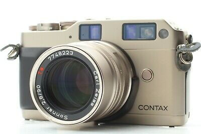 $ CDN604.96 • Buy [ Exc+5 ] CONTAX G1 Green Label Rangefinder 35mm Sonnar 90mm F2.8 From Japan