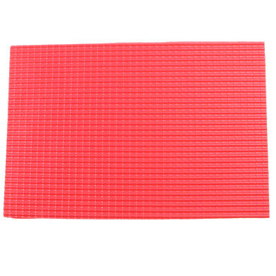 £2.48 • Buy Roof Tile Sheet PVC Plastic Building Railway Layout Architecture DIY Red