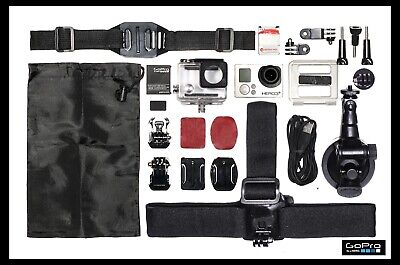 £60 • Buy Gopro Hero 3+ Silver+suction+helmet Mount+head Mount More Accessories