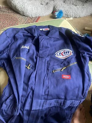 $28.75 • Buy Dickies Coveralls Mens 42 Tall Navy Kerr McGee Uniform W USA Patch KM New!!!