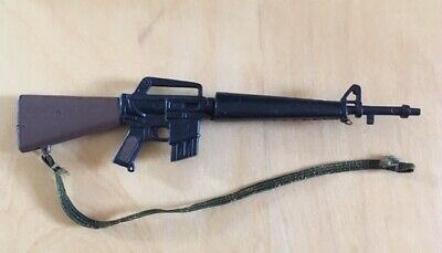 $7.94 • Buy Vintage Action Man US M16 Rifle With Sling (Partially Detached) Toy