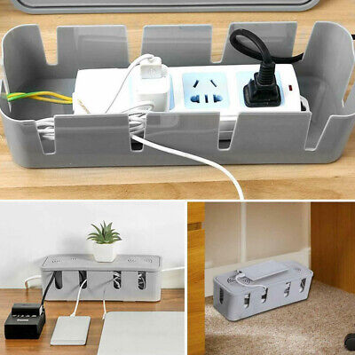 Safety Cable Tidy Box Case Wire Cable Management Socket Storage Organizer NIE • 6.49£
