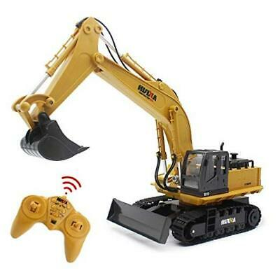 Remote Control Excavator RC Digger, 2.4Ghz 11 Channel Construction Vehicle  • 72.41£