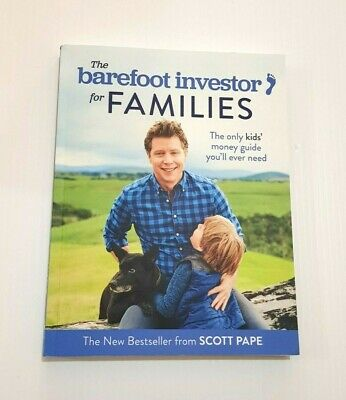 AU18 • Buy THE BAREFOOT INVESTOR For Families Paperback Book By Scott Pape 2018