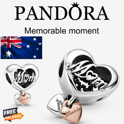 AU17.99 • Buy New  PANDORA SILVER S925 Thanksgiving Mother Heart Shaped Love Bracelet  AU