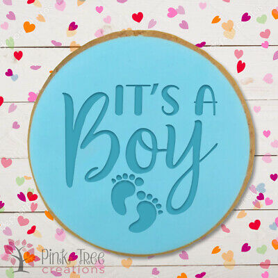 £4.95 • Buy It's A Boy Embosser Stamp, Cookie Cutter, Fondant Cupcake, Baking *NEW*