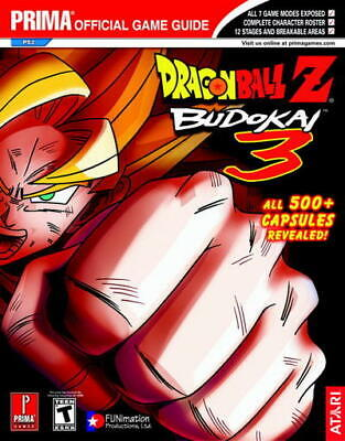 £39.99 • Buy Dragon Ball Z: Budokai 3 : Prima Official Game Guide By Eric Mylonas Great Value