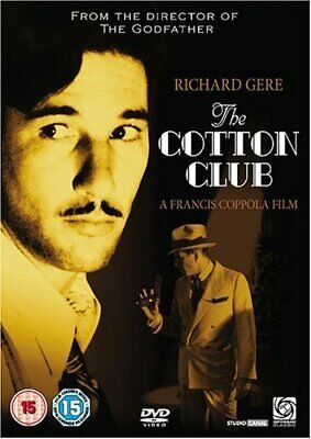 The Cotton Club     (DVD)  New!   Richard Gere, Coppola • 3.99£