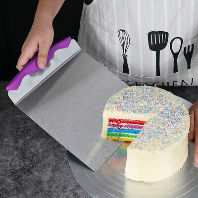 Cake Pizza Transfer Tray Moving Plate Cake Lifter Shovel Pastry Tool Supplies • 11.42£