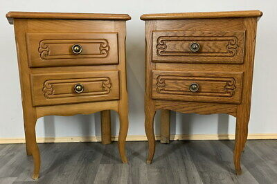 £179 • Buy Amazing Pair French  Bedside Tables Cupboards Cabinets Louis XVI
