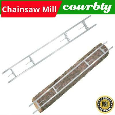£92.02 • Buy 2.7m Chainsaw Mill Rail System Aluminum Rail Guide System Extension Accessory