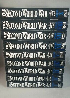£49.99 • Buy The Second World War: An Illustrated History Of WWII. Set Of 9 Hardback Books