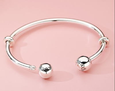 AU35 • Buy Pandoa Momnet Charm Silver Open The Bracelet