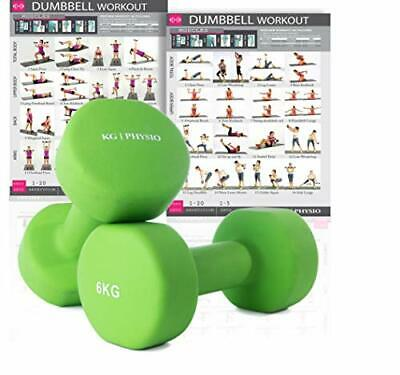 AU103.35 • Buy Dumbbells Set Of 6kg Weights (sold As A Pair) A3 Poster - Weights