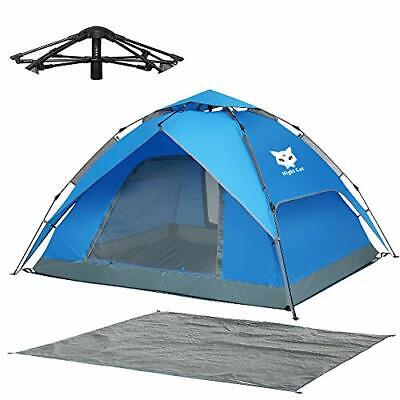 AU175.15 • Buy Pop Up Tent 3 4 Man Person Camping Tent Waterproof Instant Automatic