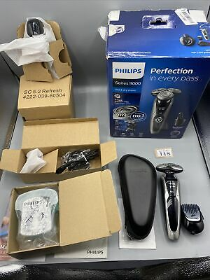 AU268.32 • Buy Philips Series 9000 Wet And Dry Men's Electric Shaver With SmartClean