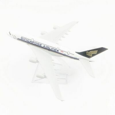AU17.99 • Buy ✈AIR Singapore Airlines Airplane Model A380 Airplane Model Gift Collection1:400