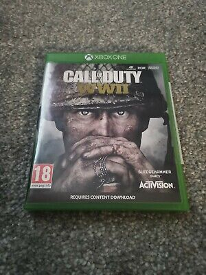 Call Of Duty WWII Xbox One • 2.50£
