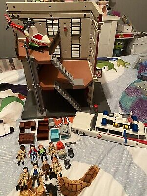 PLAYMOBIL 9219 Ghostbusters Fire Headquarters & Ecto-1 • 44.99£