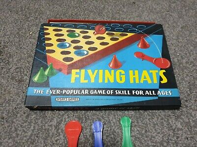 £6.95 • Buy Vintage Flying Hats, Spears Games Board Game Retro 70's