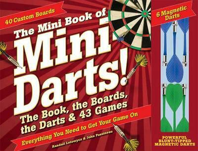 £12.10 • Buy The Mini Book Of Mini Darts: The Book, The Boards, The Darts, And 43 Games By Ra