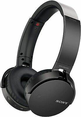 AU64.49 • Buy Sony Extra Bass Over-Ear Headphones - Black (MDR-XB650N1)