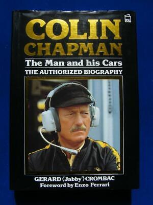 £29.95 • Buy Colin Chapman The Man And His Cars - Biography - PSL - Hardcover