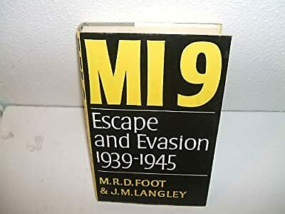 $16.04 • Buy M19 Escape And Evasion 1939-1945, Foot, M R D; Langley, J M, Used; Good Book