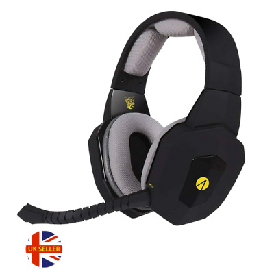 £8.99 • Buy Stealth Hornet Gaming Headset + Microphone * Playstation 4 5 Xbox One Ps4 Ps5