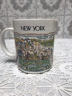 £6.50 • Buy New York Mug Collectible - A View Of The World Range - 1980's. Unused.