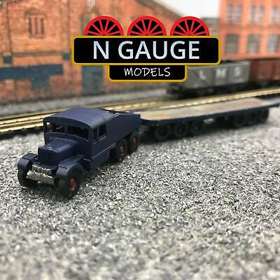 £14.99 • Buy Classic Heavy Haulage Lorry & Unloaded Trailer N Gauge Scale 1:148 (Ready To Go!
