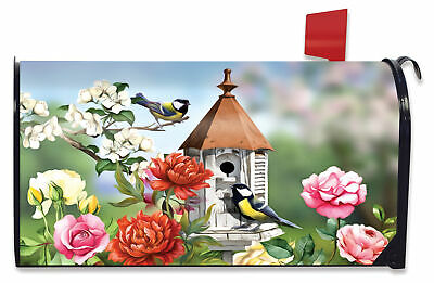$16.99 • Buy Home Sweet Birdhouse Spring Magnetic Mailbox Cover Standard Briarwood Lane
