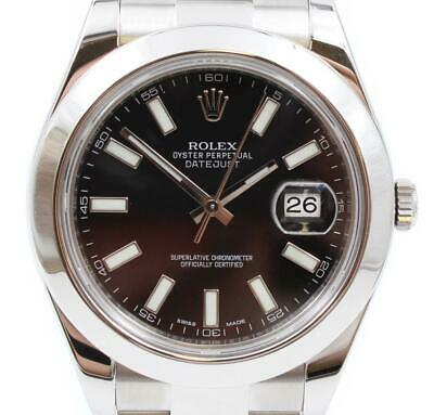 $ CDN9300 • Buy Rolex Datejust II 116300 Black Dial Automatic 41mm Mens Oyster Perpetual Watch