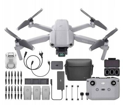 AU1120.48 • Buy DJI Mavic Air 2 Fly More Combo 4K Plus Pro Bundle Extra Battery