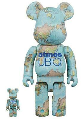 $581.78 • Buy BE @ RBRICK Atmos UBIQ Bearbrick Atmos 400% And 100%