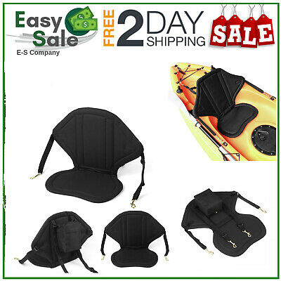 £21.85 • Buy Deluxe Kayak Seat Adjustable Sit On Top Canoe Back Rest Support Cushion Safety