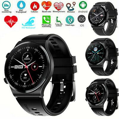 AU13.79 • Buy Bluetooth Smart Watch Heart Rate Call Sports For Android Samsung Huawei IPhone