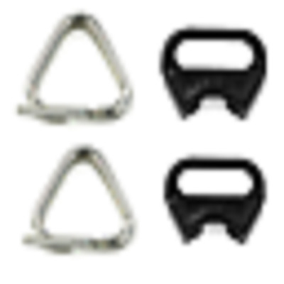 Nikon Genuine Triangle Rings Camera Strap Lugs Protector For SLR Lot Of 4 Set • 12.38£