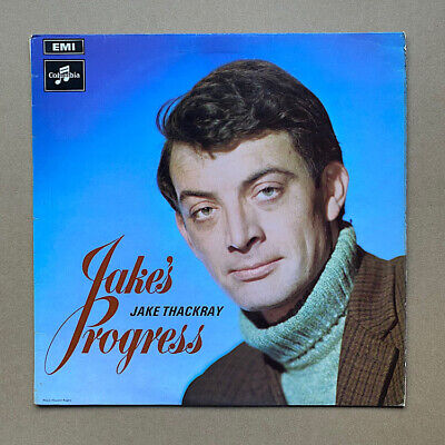 £12 • Buy JAKE THACKRAY JAKE'S PROGRESS LP 1969 BLACK AND SILVER LABEL - Record Has A Few