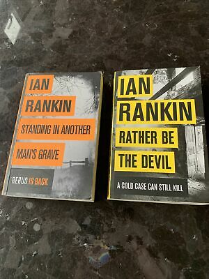£6.71 • Buy Ian Rankin Book Collection Rather Be The Devil Standing In Another Mans Grave