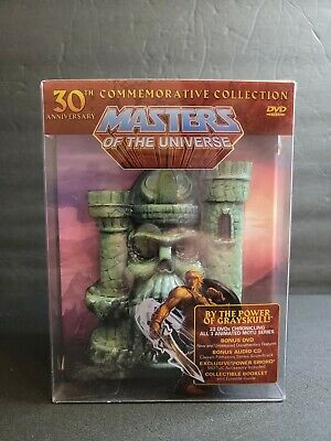 $249.99 • Buy He-man Masters Of The Universe 30th Anniversary Commemorative Collection DVD OOP