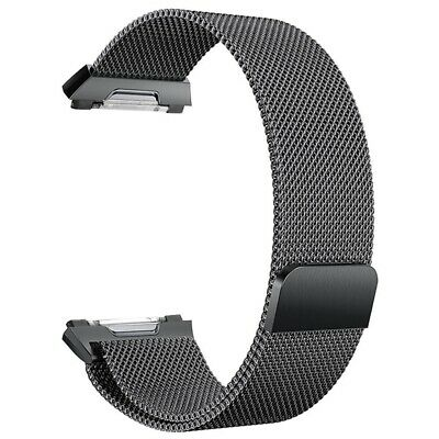 AU13.18 • Buy For Fitbit Ionic Bands Large Replacement Magnetic Loop Strap Stainless Stee C3S2