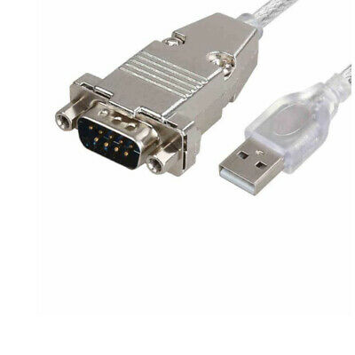 AU11.50 • Buy USB To RS232 Serial Port 9 Pin BD9 Cable Converter Standard USB 2.0 To Com 1M
