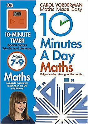 £2.28 • Buy 10 Minutes A Day Maths Ages 7-9, Vorderman, Carol, Used; Good Book